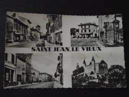 SAINT-JEAN-le-VIEUX (Ain) - Multivue - Animations - Non Voyagée - Other Municipalities