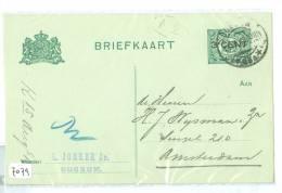 HANDGESCHREVEN BRIEFKAART Uit 1919 * Van BUSSUM Naar AMSTERDAM (7079) - Postal Stationery