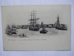59 - AL2 -  DUNKERQUE -  L'AVANT-PORT AU MOMENT DE LA MAREE  (CARTE PRECURSEUR) - Dunkerque