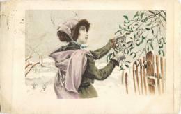 ILLUSTRATEUR MM. VIENNE FEMME VIENNOISE 1900 - Illustratoren & Fotografen