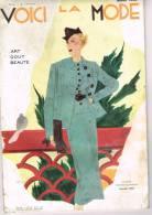 Voici La Ma Mode Chic - Art , Gout , Beauté - Superbes Illustrations - Pub - Heim - Patou - Monnier - Valois Etc.. - 1900 - 1949