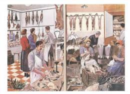 Chez Le Volailler Carte Postale Des Editions Rossignol De Montmorillon - Negozi
