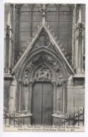 France Postcard Paris Notre Dame Porte Rue Du Cloitre Notre Dame Sent To Denmark 1928 - Artisanry In Paris