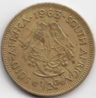 @Y@  South Afrika   1/2  Cent  1963   (C251) - Afrique Du Sud