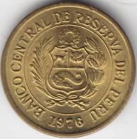 @Y@  Peru 1/2 Sol  1976  UNC    (C268) - Pérou