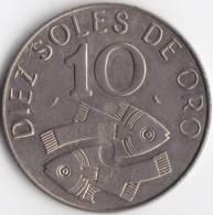 @Y@  Peru 10 Soles  1969  UNC    (C270) - Pérou