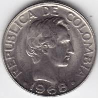 @Y@  Colombia  20 Centavos 1968  UNC    (C271) - Colombie