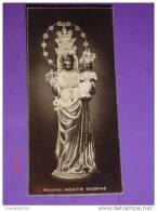 Madonna Nera - Santuario D´Oropa (Biella) -  Santino / Foto - Santini