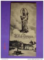 Ricordo Madonna Nera - Santuario D´Oropa (Biella) -  Santino / Foto - Piccolo - Santini