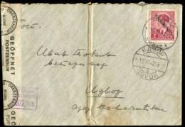 SERBIA IDVOR CENSORED COVER 1942 - Briefe U. Dokumente