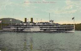 Albany Day Line Steamer Hendrick Hudson 1913 - Paquebots
