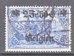 Germany Occupation  BELGIUM N 9   (o) - Occupation 1914-18