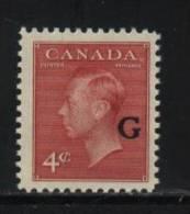 Canada O19  MNH - Officials