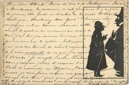 ILLUSTRATEUR LITUANUS C.P. N°165  OMBROMANIE 1900 Schneider Berlin - Illustrateurs & Photographes