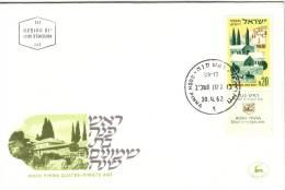 ISRAEL-1er JOUR D'EMISSION-ROSH PINNA LE 30-4-1962. - Israel