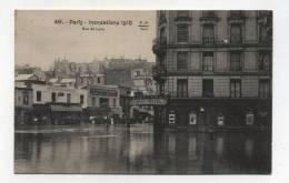 CPA 75 : PARIS  Inondations   Rue De Lyon     A     VOIR  !!!! - Paris Flood, 1910