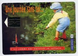 """""""Une Journée Sans Toi.....c'est Comme Une Traversée En Solitaire! (enfant,jouet,bateau),cpm éd Cartapuce Avec Coeur - Jeux Et Jouets"""