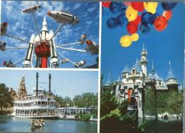 (280) Disneyland Attractions And Castle - Disneyland