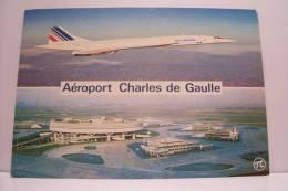 CONCORDE  - Aeroport  Charles De Gaulle - 1946-....: Moderne