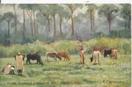 FULANU HEROESMEN AT MAMPON GOLD COAST (DESSIN DE E CHEESMAN) 1924 - Ghana - Gold Coast