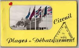 39674-ZE-14-Circuit Des Plages Du Débarquement-Carnet Album De 18 CPSM- - Cartoline