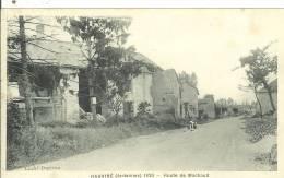HAUVINE....ARDENNES....1920...Route De MACHAULT..... - France