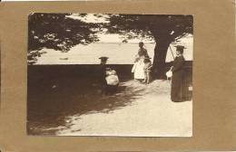 44  LE    POULIGUEN   PHOTO 1903  CATHERINE B.......  MADELEINE B.....  LE PETIT JEAN - Le Pouliguen