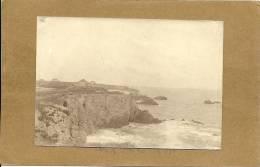 44  LE    POULIGUEN   PHOTO 1903  VUE  DE  LA  GRANDE  COTE  AU  POULIGUEN - Le Pouliguen