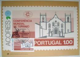 1980 AZORES ACORES PORTUGAL WORLD TOURISM CONFERENCE MAXIMUM CARD 2 - Maximum Cards & Covers