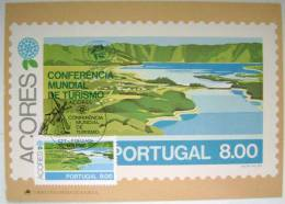 1980 AZORES ACORES PORTUGAL WORLD TOURISM CONFERENCE MAXIMUM CARD MC 5 - Maximum Cards & Covers