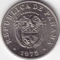 @Y@     Panama 5 Centesimos 1975  UNC   (C294) - Panama