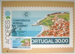 1980 AZORES ACORES PORTUGAL WORLD TOURISM CONFERENCE MAXIMUM CARD MC 6 - Maximum Cards & Covers