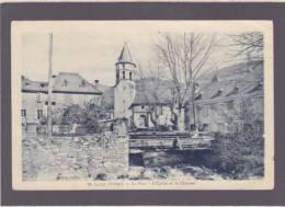 Ariege - Saint-lary - Le Pont, L'église Et Le Chateau - Ed Ousset - Voir état - France
