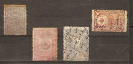 ANATOLIA - 1920/21 GROUP OF 4 STAMPS USED (MIXED CONDITION) - 1920-21 Anatolia