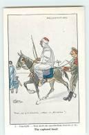 VIGNY Sept 1914 : Présentation D'un Assassin Et Voleur. Prisonnier Allemand Devant Les Pyramides. 2 Scans. Ed Bernard - Weltkrieg 1914-18