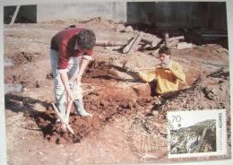1991 AZORES ACORES PORTUGAL TYPICAL LOCAL JOB JOBS MAXIMUM CARD MC 3 - Jobs