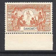 DAHOMEY EXPO 1931 N�  101  NEUF* TTB
