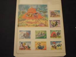 SIERRA LEONE - 1983 NOEL/SPAZIO(W.DISNEY) 8 Valori + BF-  NUOVI(++)-TEMATICHE - Sierra Leone (1961-...)