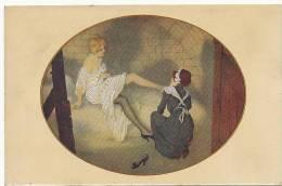 Kirchner Les Zeppelins A Paris Cave No 35 LE Erotisme Lesbianisme Pied Bas  Guerre 14 - Kirchner, Raphael