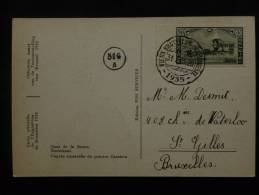 N°407 Sur CPA   Officielle De L´expo  BXL 1935 Quai De La Senne - 1935 – Brüssel (Belgien)