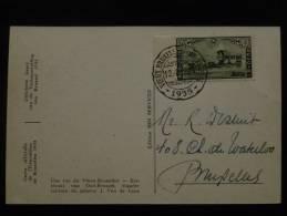 N°407 Sur CPA   Officielle De L´expo  BXL 1935 Une Rue Du Vieux Bruxelles - 1935 – Brüssel (Belgien)