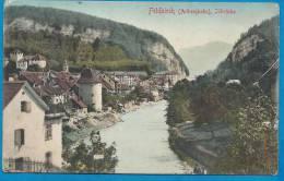 FELDKIRCH  Albergbahn Illbrücke     écrite En 1914 - Österreich