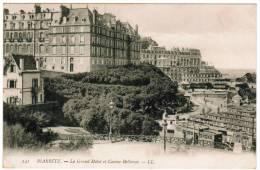 CPA Biarritz, Le Grand Hôtel Et Casino Bellevue (pk6731) - Biarritz