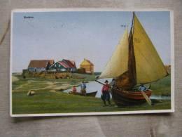 Marken - Fisher Pecheur - Barque -boat   D91151 - Non Classés