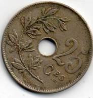 - PIECE DE 25 Ces 1922 - 855 - Monnaies