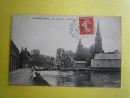 59 WANBRECHIES LE BASSIN DE LA DISTILLERIE 1909 - Autres Communes