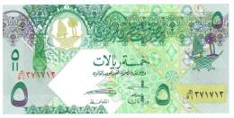 QATAR FIVE  RIYAL BANKNOTES - Qatar