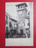 Lanzo Torinese (TO) - Torre - 1908 - Piccolo Formato - Viaggiata - Andere Städte