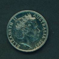 AUSTRALIA  -  2005  20 Cents  Circulated As Scan - Decimal Coinage (1966-...)