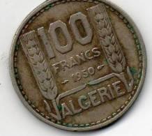 - Pièce De Monnaie 100 Francs Algérie 1950  - 879 - Autres – Afrique